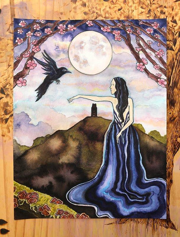 Goddess Morrigan Original