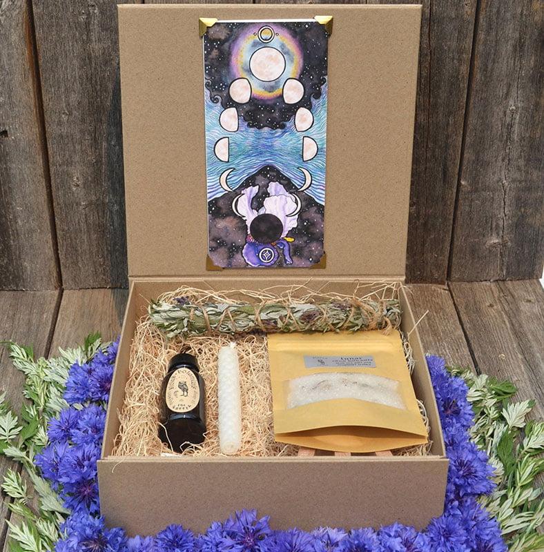 Lunar Altar magick set